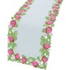 Xia Home Fashions Strawberry Patch Table Runner