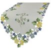 Xia Home Fashions Fancy Flowers Table Runner