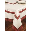 Xia Home Fashions Tartan Ribbon Embroidered Holiday Tablecloth