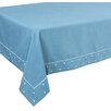 Xia Home Fashions Polka Dot Embroidered Easy Care Tablecloth