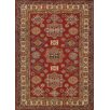 Pasargad Kazak Hand-Knotted Red Area Rug