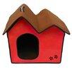 Penn Plax Zipper Double Roof Dog House