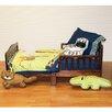 One Grace Place Jazzie Jungle Boy 4 Piece Toddler Bedding Set