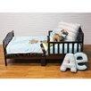 One Grace Place Puppy Pal Boy 4 Piece Toddler Bedding Set