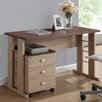 Wholesale Interiors Baxton Studio Woodrow Writing Desk with File Cabinet