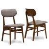 Wholesale Interiors Baxton Studio Sacramento Side Chair (Set of 2)