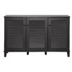 Wholesale Interiors Warren 3 Door Shoe Storage Cabinet
