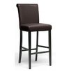 "Wholesale Interiors Baxton Studio Bianca 30"" Bar Stool with Cushion (Set of 2)"