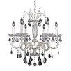 Allegri by Kalco Lighting Casella 6 Light Crystal Chandelier