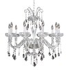 Allegri by Kalco Lighting Clovio 10 Light Crystal Chandelier