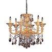 Allegri by Kalco Lighting Mendelsshon 6 Light Crystal Chandelier