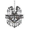 Allegri by Kalco Lighting Brahms 5 Light Crystal Chandelier