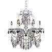 Allegri by Kalco Lighting Steffani 6 Light Crystal Chandelier