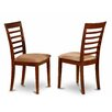 East West Furniture Milan Side Chair (Set of 2)