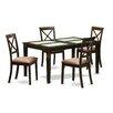 East West Furniture Capri 5 Piece Dining Set