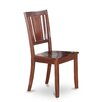 Wooden Importers Dudley Side Chair with Wood Seat (Set of 2)