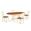 Wooden Importers Plainville 5 Piece Dining Set