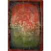 Oliver Gal Burst Creative Amsterdam Fields Graphic Art on Wrapped Canvas
