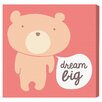 "Oliver Gal ""Dream Big Teddy"" by Olivia's Easel Canvas Art"
