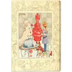 """Oliver Gal """"Alice Queen of Wonderland"""" by Olivia's Easel Canvas Art"""