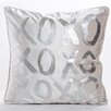 Oliver Gal XOXO Throw Pillow