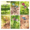 Evergreen Flag & Garden Butterfly, Ladybug and Dragonfly Garden Stake (Set of 3)