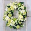 "Jane Seymour Botanicals 28"" Hydrangea and Lilac Wreath"