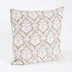Saro Abbeville Baroque Design Cotton Throw Pillow