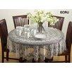 Saro Vinyl Cutwork Tablecloth
