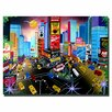 """Trademark Fine Art """"Times Square"""" by Herbet Hofer Painting Print on Wrapped Canvas"""