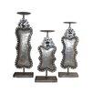 Entrada 3 Piece Metal Candlestick Set