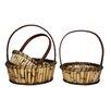 Entrada 3 Piece River Cane Basket Set