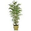 Laura Ashley Home Tall Realistic Silk Bamboo Tree in Basket