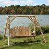 Lakeland Mills Yard Porch Swing