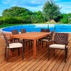 International Home Miami Amazonia Pompeii 7 Piece Dining Set with Cushions