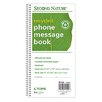 Tops Second Nature 2 Part Carbonless Phone Message Book (Set of 5)