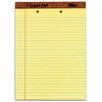 Tops 30 pt. 2 Hole Punched Top Perforated Wide Rule Legal Pad (Set of 72)