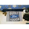 FANMATS Ford Gray Built Tough Area Rug