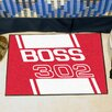 FANMATS Ford Red Boss 302 Area Rug