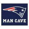 FANMATS NFL New England Patriots Man Cave Outdoor Area Rug