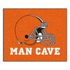 FANMATS NFL Cleveland Browns Man Cave Outdoor Area Rug