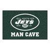FANMATS NFL New York Jets Man Cave Starter Area Rug