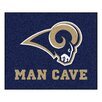 FANMATS NFL St Louis Rams Man Cave Ulti-Mat Outdoor Area Rug