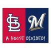 FANMATS MLB Red/Blue Area Rug
