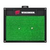 FANMATS Collegiate University of Wisconsin Golf Hitting Doormat