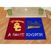 FANMATS NCAA University Of Southern California House Divided Mat