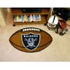 FANMATS NFL Oakland Raiders Football Doormat