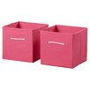 RiverRidge Kids Folding Toy Storage Bins (Set of 2)