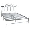 Hodedah Metal Panel Bed