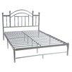Hodedah Metal Panel Bed